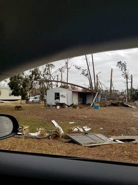 House Damage from Car